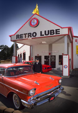 the first retro lube